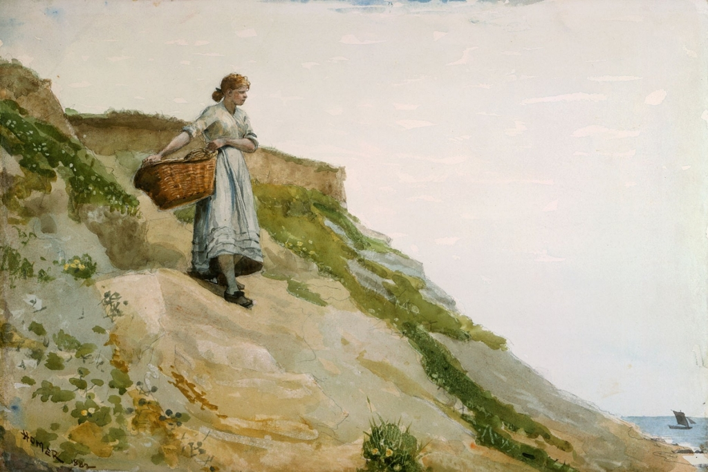 Winslow-Homer-Girl-Carrying-a-Basket