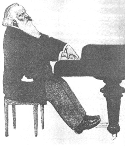 Johannes Brahms (May 7th, 1833–April 3rd, 1897)