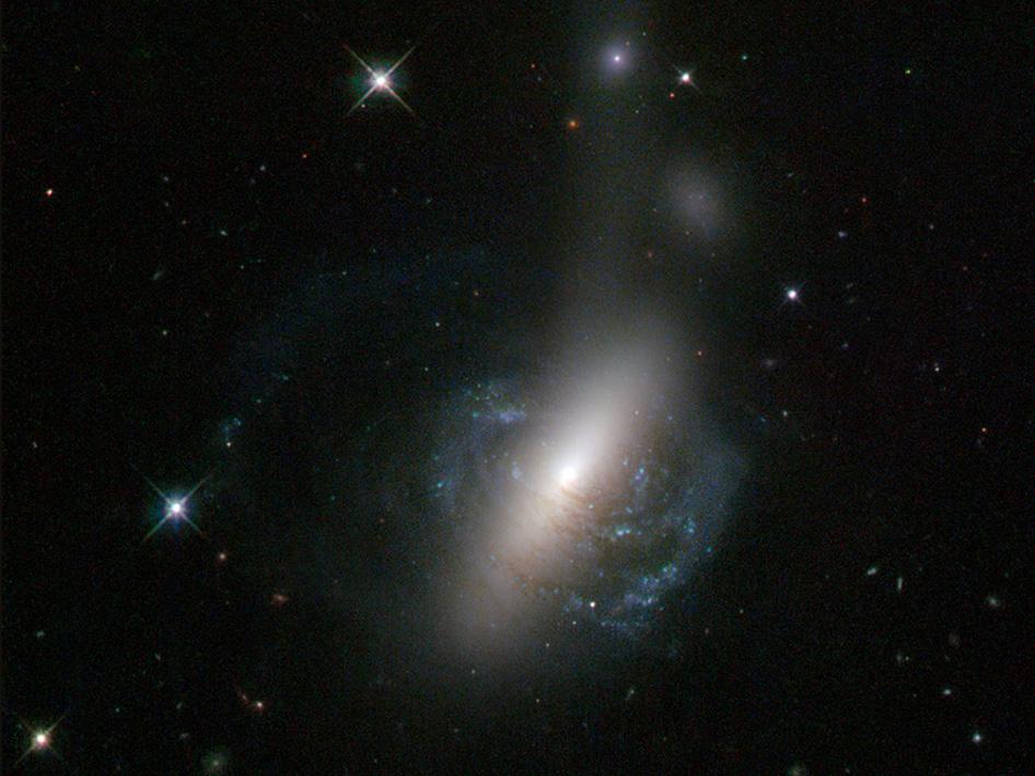 Cosmic Collision Between Galaxies (June 5th, 2013)