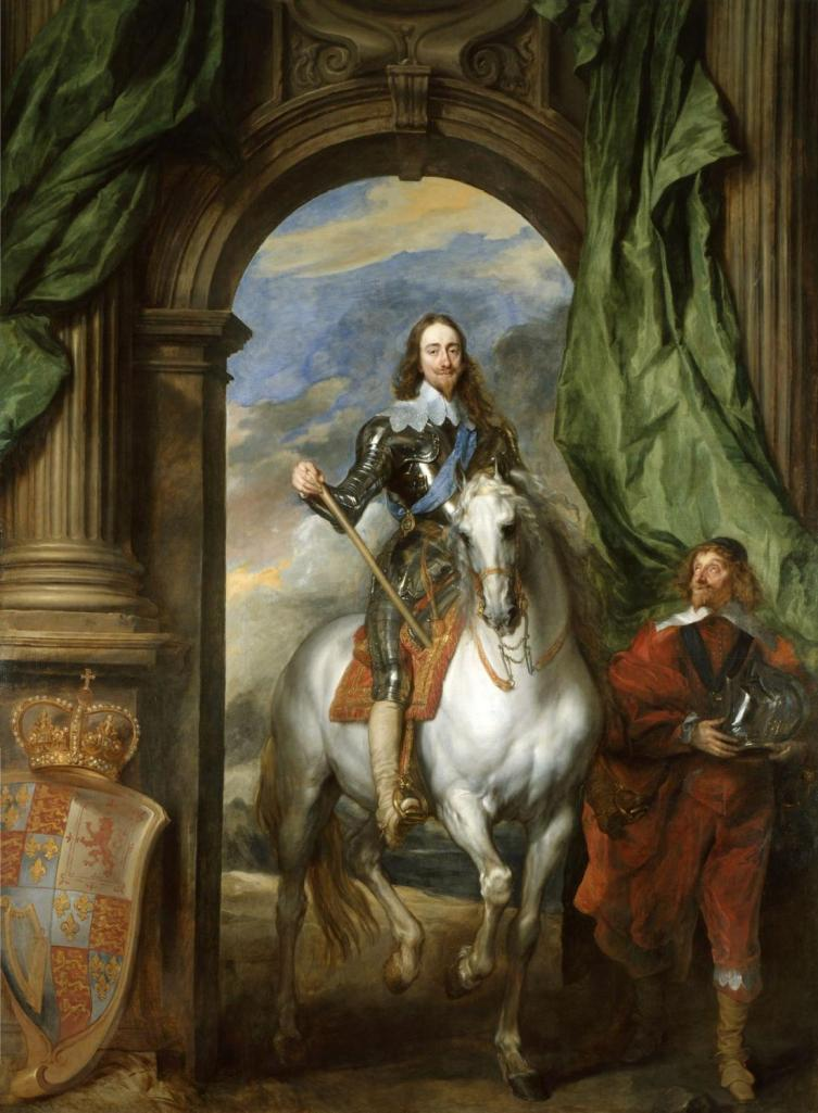 20130630XD-Wiki-Anthony_van_Dyck-Charles_I_with_M_de_St_Antoine_(1633)