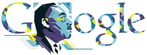 Google chose to celebrate the MLK Day aspect of today, rather than the 2nd Inaugural Ceremony